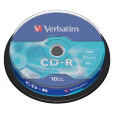 Płyty CD-R 700MB 10szt. VERBATIM cake
