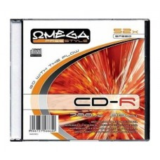 Płyta CD-R 700MB OMEGA Freestyle slim
