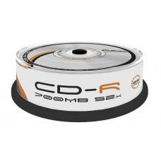 Płyty CD-R 700MB OMEGA Freestyle 25szt. cake
